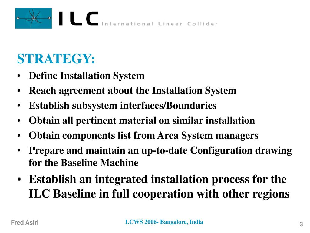 Installation Global System - ppt download
