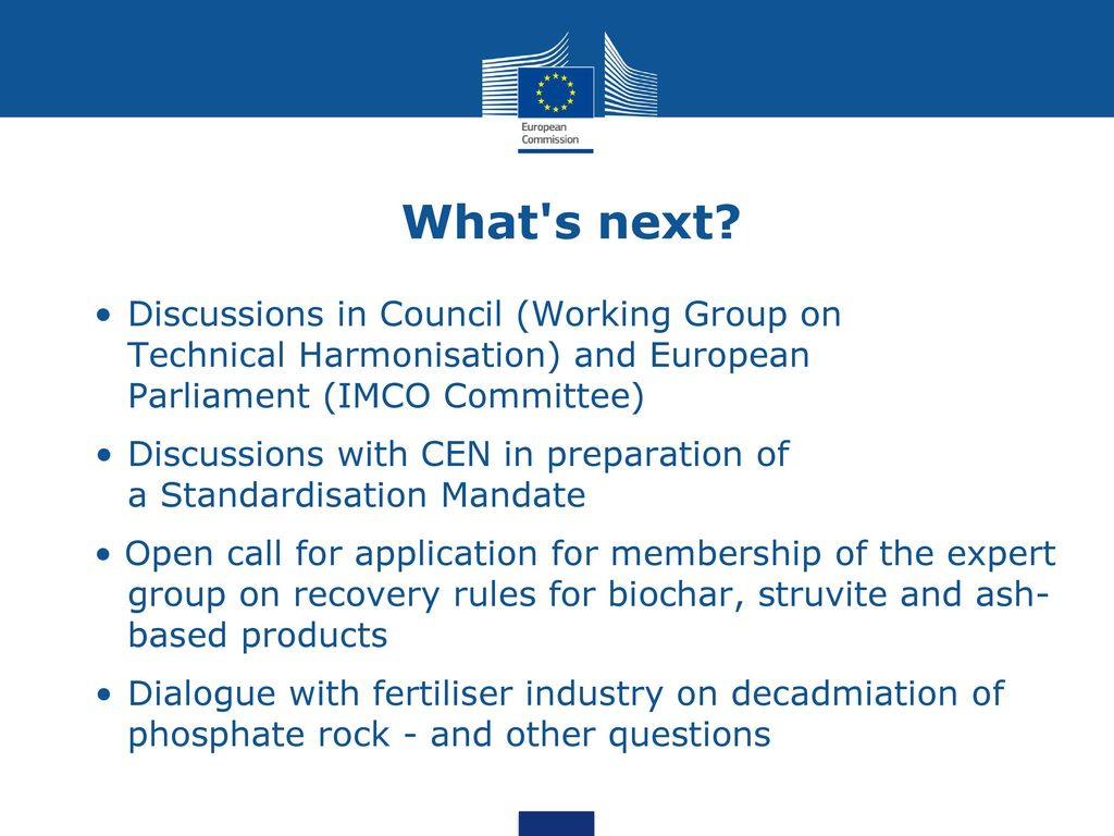 European Commission, DG GROW Fertiliser Europe Conference - 3 May