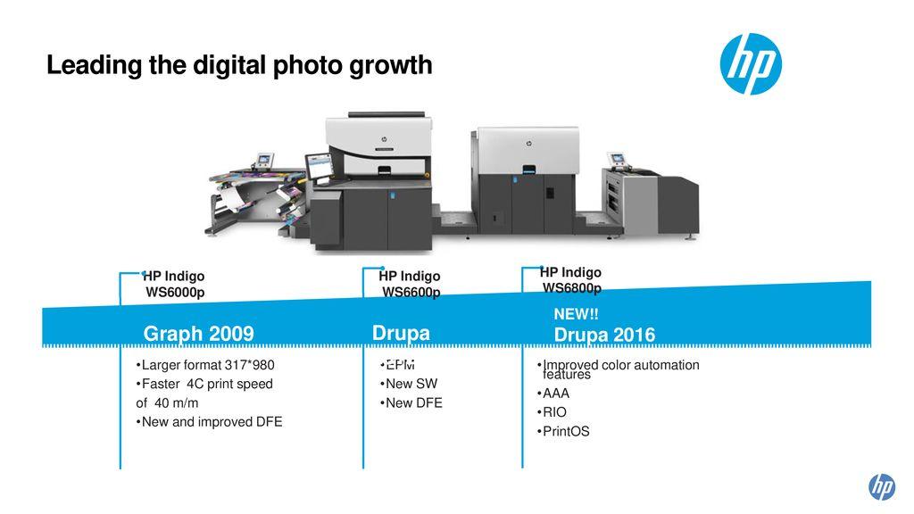 HP Indigo WS6800p Digital Press Presentation - ppt download