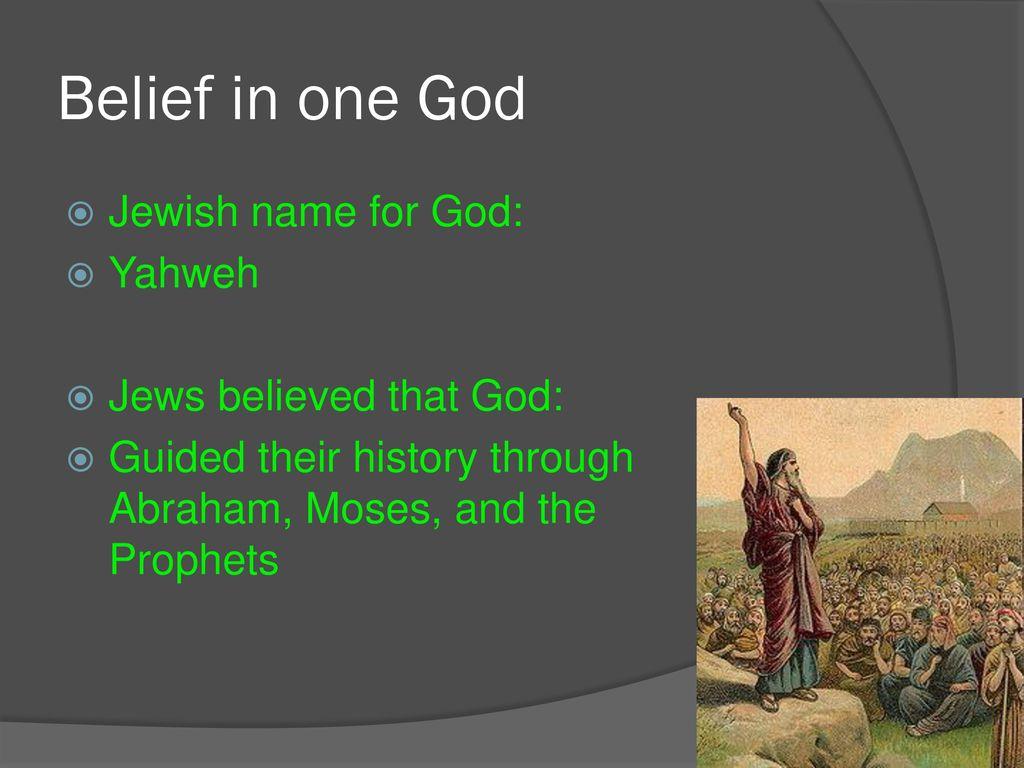 Jewish Beliefs & Texts  - ppt download