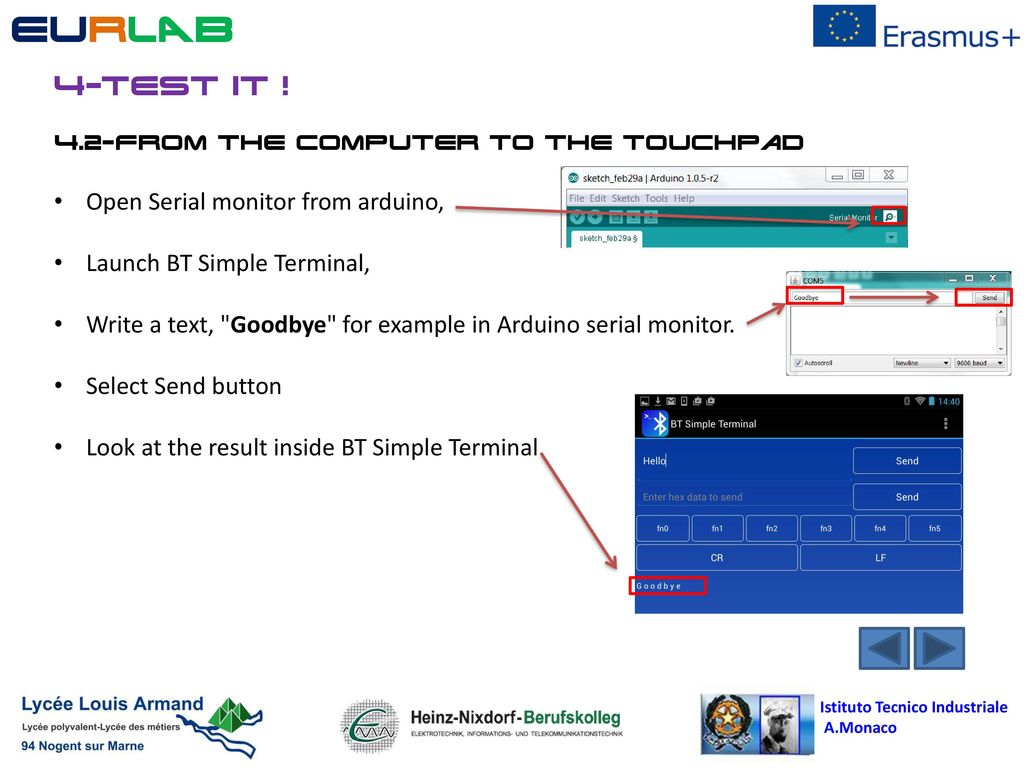 European Robotic LABoratory - ppt download