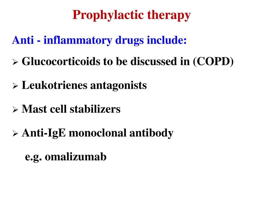Pharmacology of drugs used in bronchial asthma & COPD - ppt
