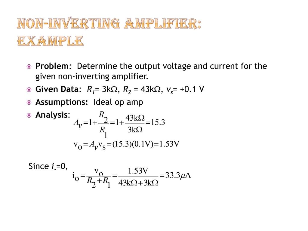 Spb Patel Engineering Collage Ppt Download Inverting Amplifier Vs Noninverting 11 Non