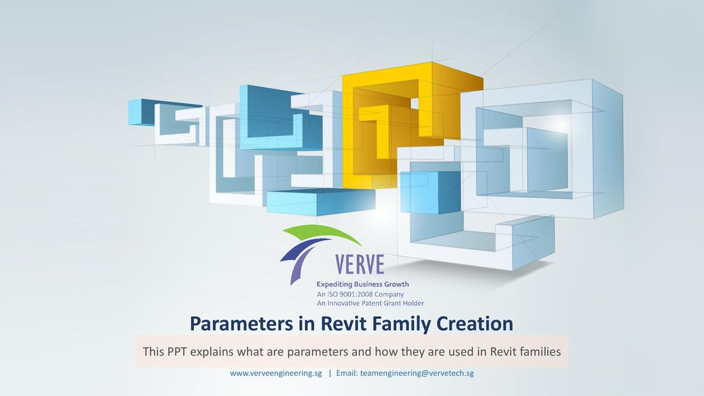 Parameters in Revit Family Creation - ppt download