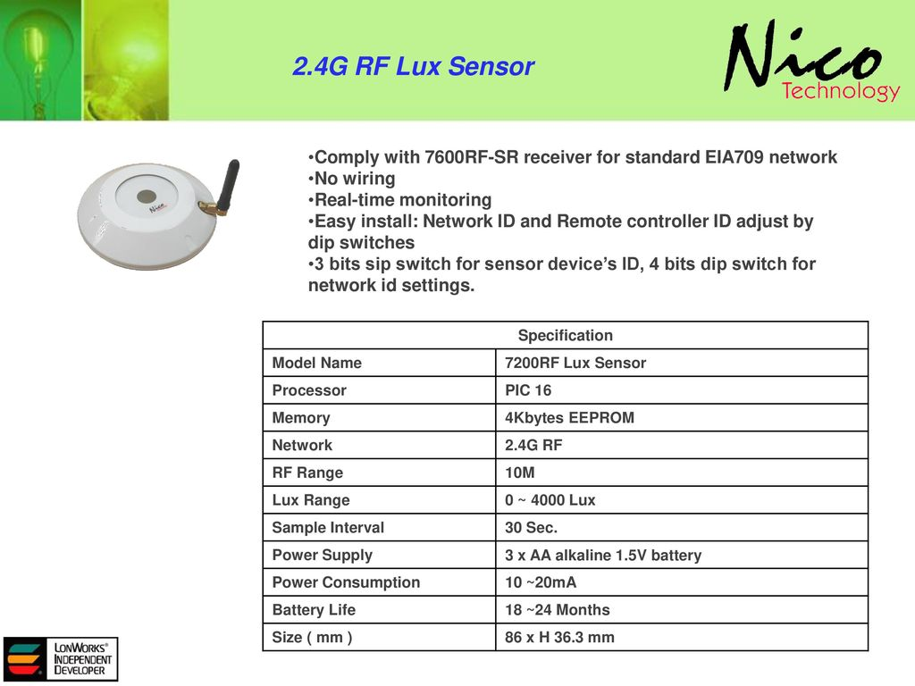 System Network Structure Ppt Download Switches Between 0 And 5 V Is Microprocessor Compatible For Sensor 24g Rf Lux Comply With 7600rf Sr Receiver Standard Eia709