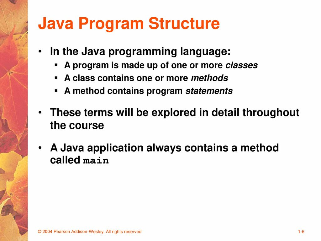 Intermediate Java Programming - ppt download