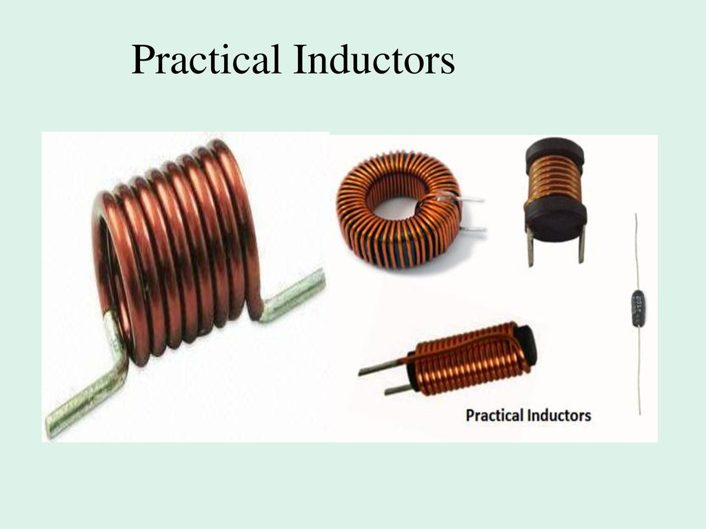 Inductance And Capacitance Response Of First Order Rl Rc Ppt Coils Copper Wire Are Commonly Used In Electrical Inductors 4 Practical