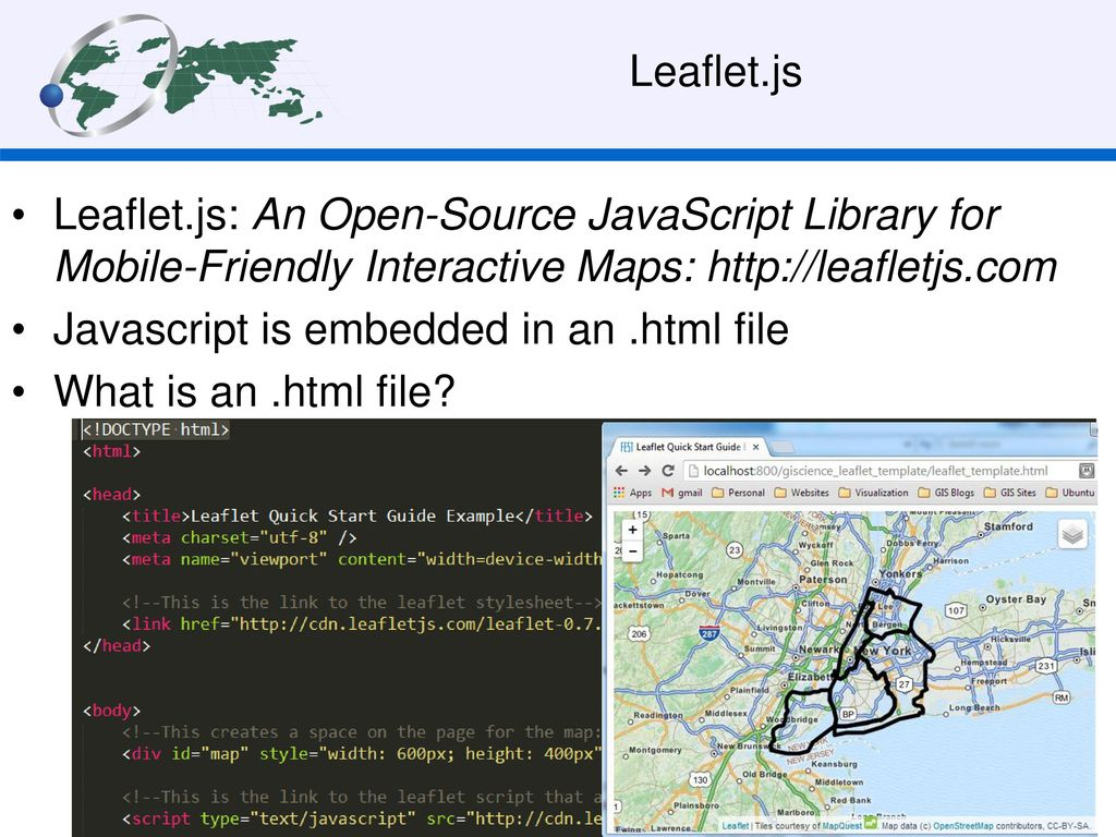 ADVANCED: Making maps with Leaflet js - ppt download