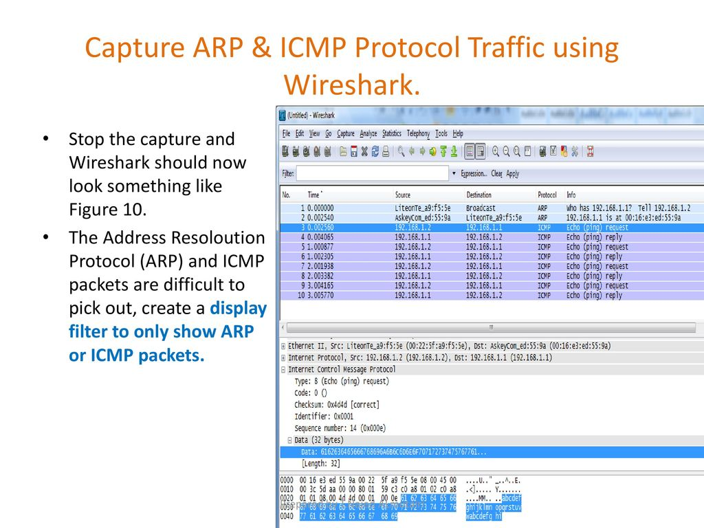 Lab 2: Packet Capture & Traffic Analysis with Wireshark - ppt download