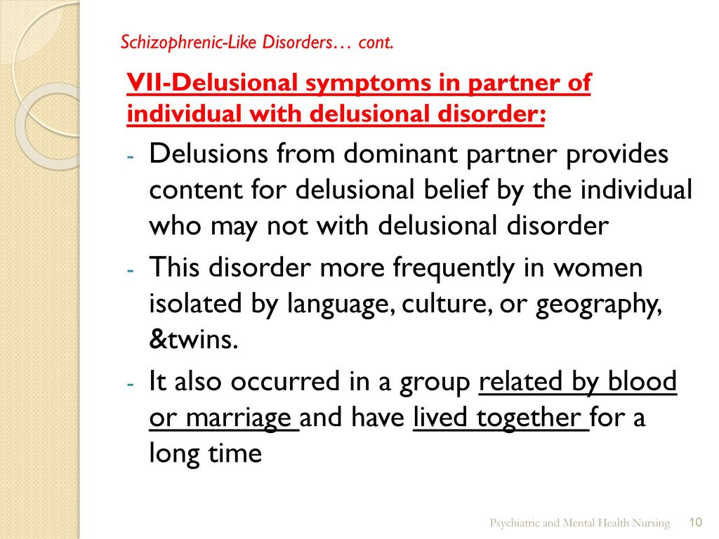 Communication on this topic: How to Recognize Delusional Disorders, how-to-recognize-delusional-disorders/