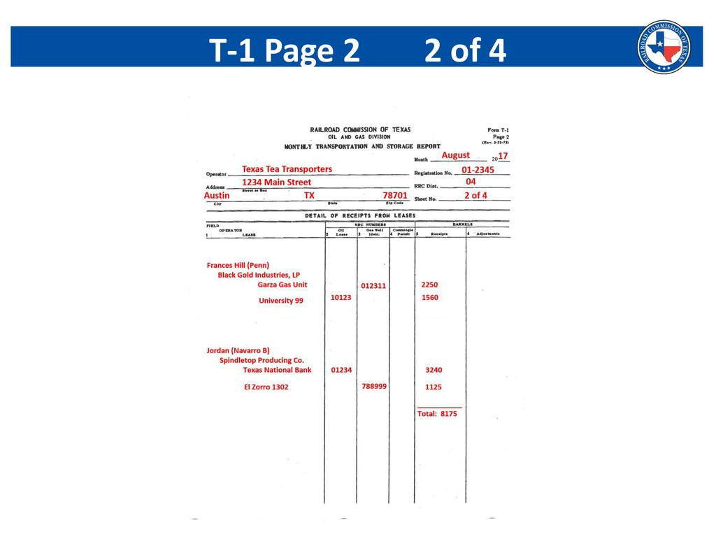Surface Commingling Form P 17 Deborah Davis Production Manager Gas Well Schematic 53 T 1