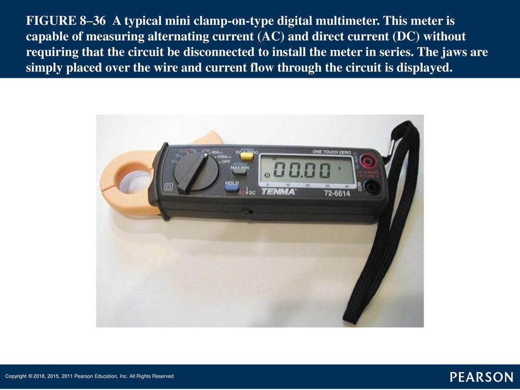 Automatic Transmissions And Transaxles Ppt Download Tang Ampere Digital Ac 1000a Volth S 36 Figure 836 A Typical Mini Clamp On Type Multimeter
