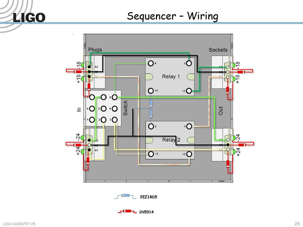 D Sequencer Insertable Ppt Download Wiring Diagram 29 2ez18d5 1n5314 Ligo V5