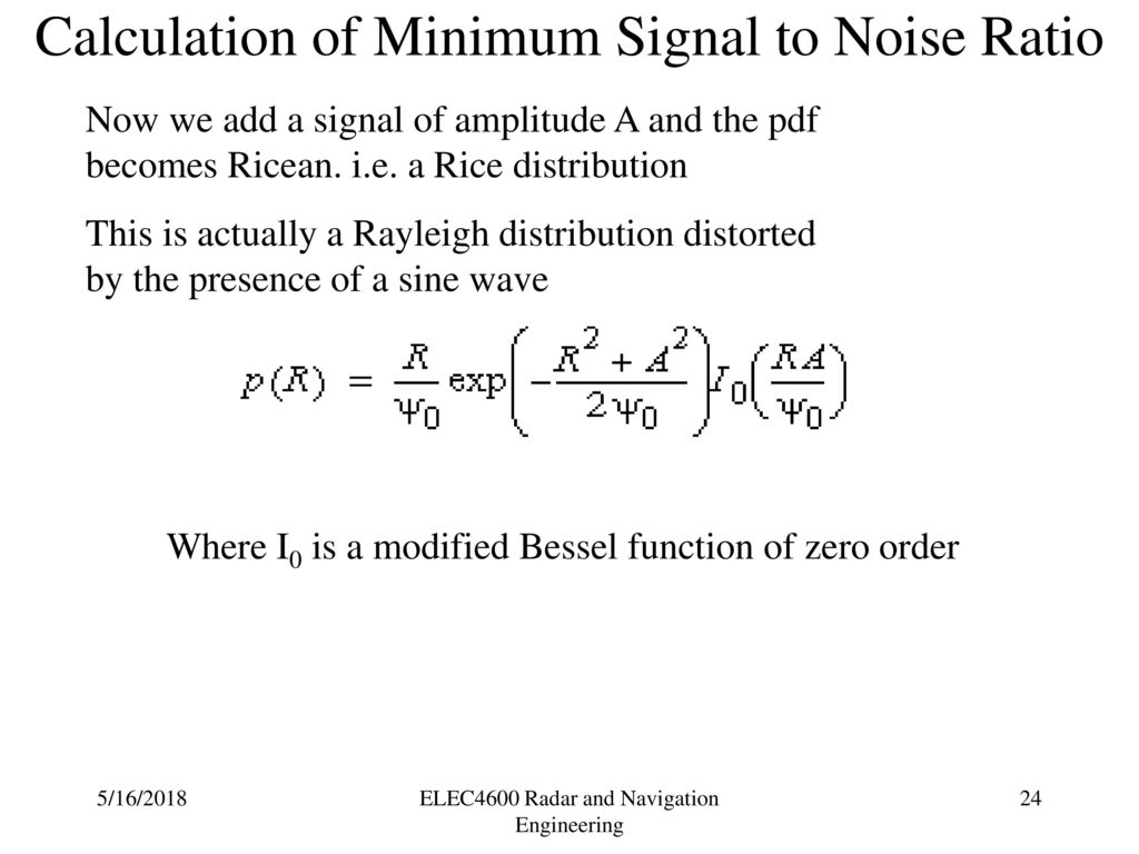 Radar Notes For Ece Pdf