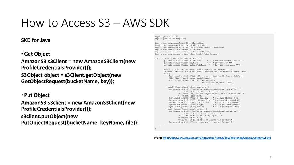 Amazon Simple Storage Service (S3) - ppt download