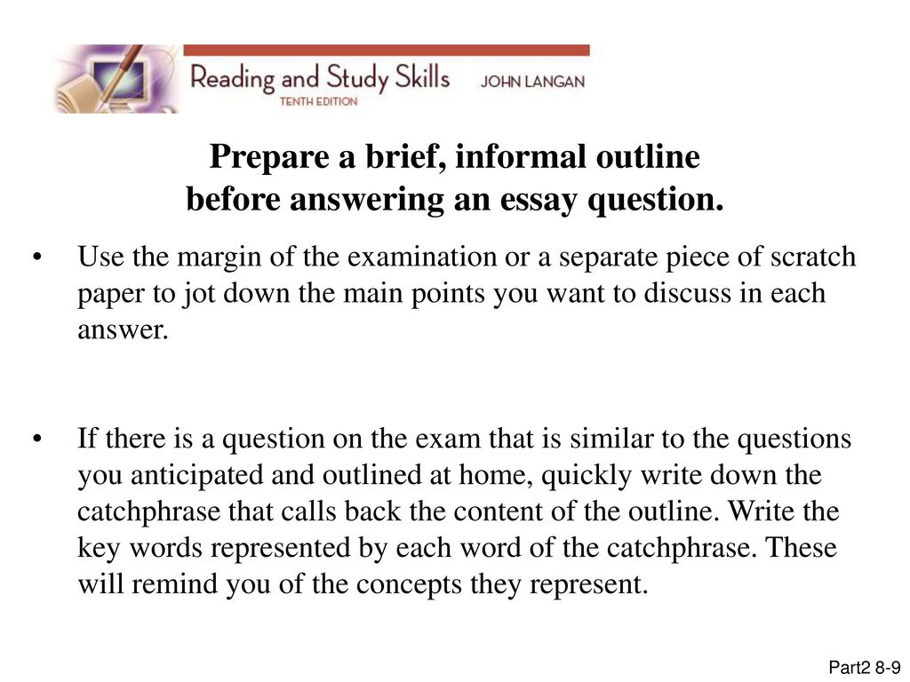 Business Cycle Essay Prepare A Brief Informal Outline Before Answering An Essay Question Ghostwriting Service also Algebra 2 Help Online  Mcgrawhill Companies All Rights Reserved  Ppt Download Teaching Essay Writing To High School Students