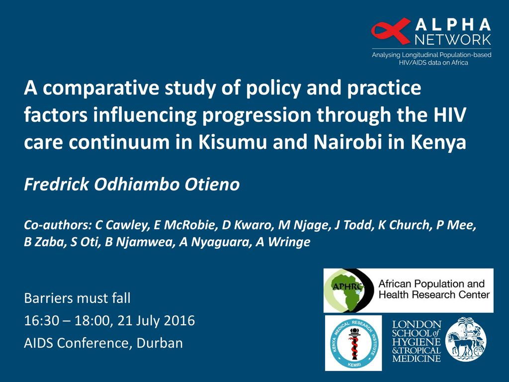 A comparative study of policy and practice factors