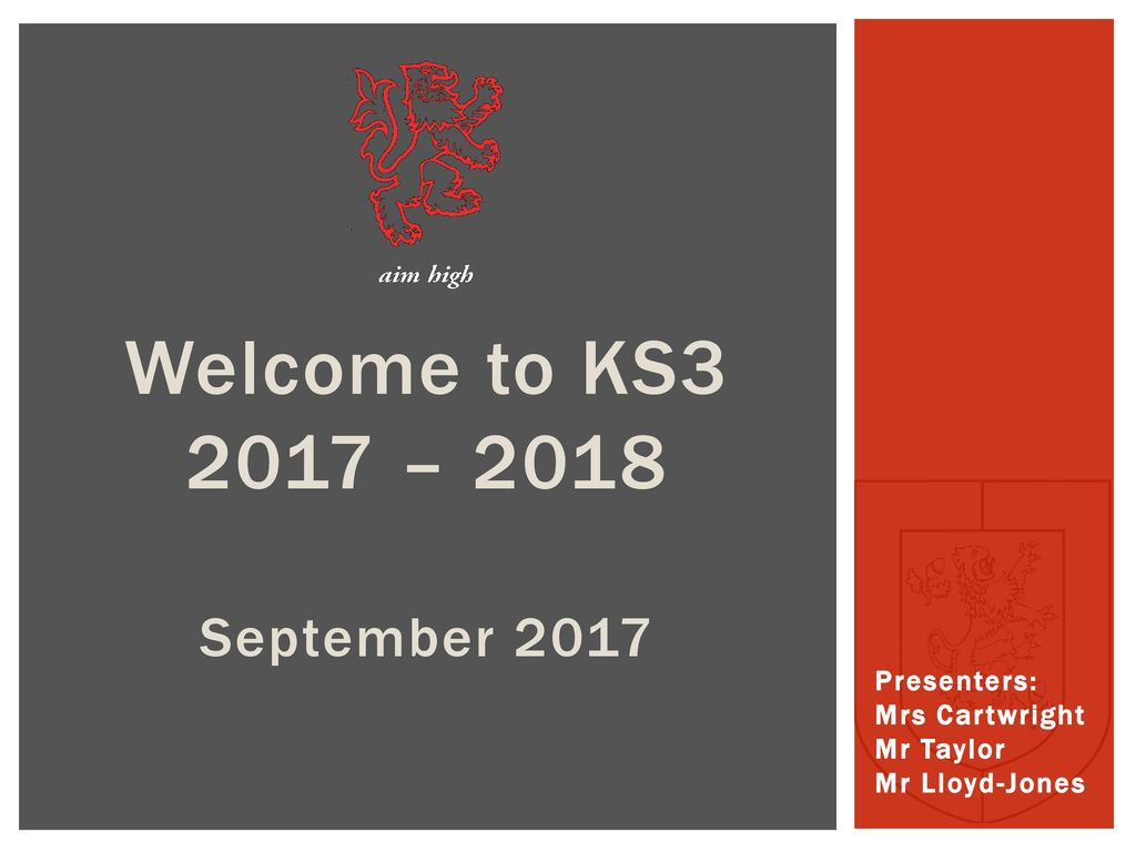 Welcome to KS – 2018 September ppt download