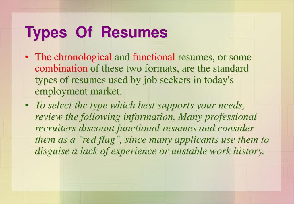 How To Write Resume In English Ppt Download
