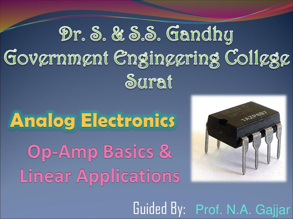 Op Amp Basics Linear Applications Ppt Download Dark Active Switch Circuit 741 Opamp Electronics Projects Circuits