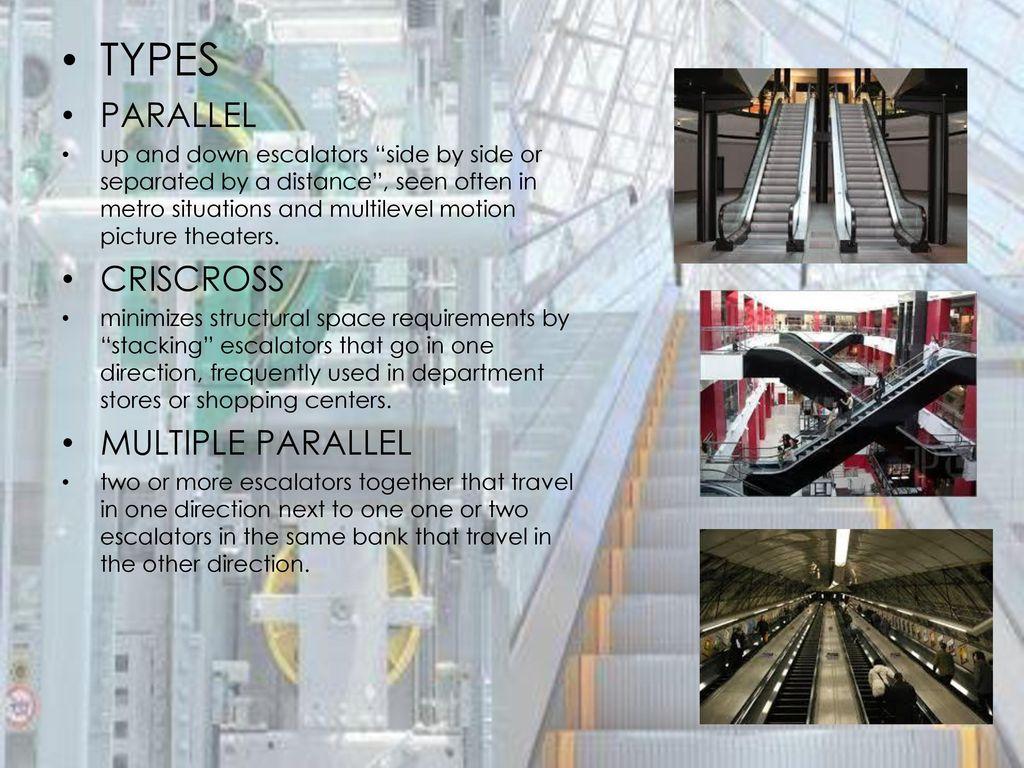 Escalators and Elevators - ppt download
