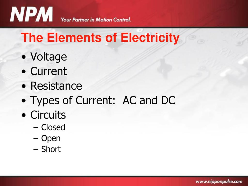 Basic Electronics Ppt Download Picture Of The Three Basics Electric Circuits Voltage Current 3 Elements Electricity
