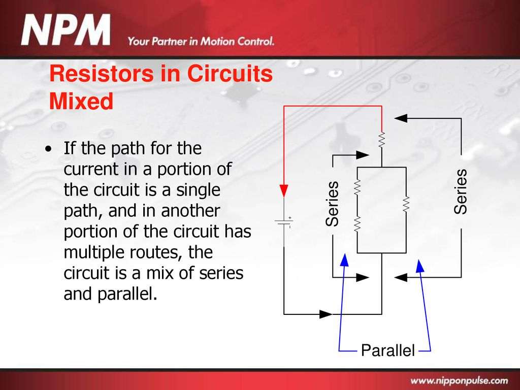 Basic Electronics Ppt Download Circuit In Parallel And Series Resistors Circuits Mixed