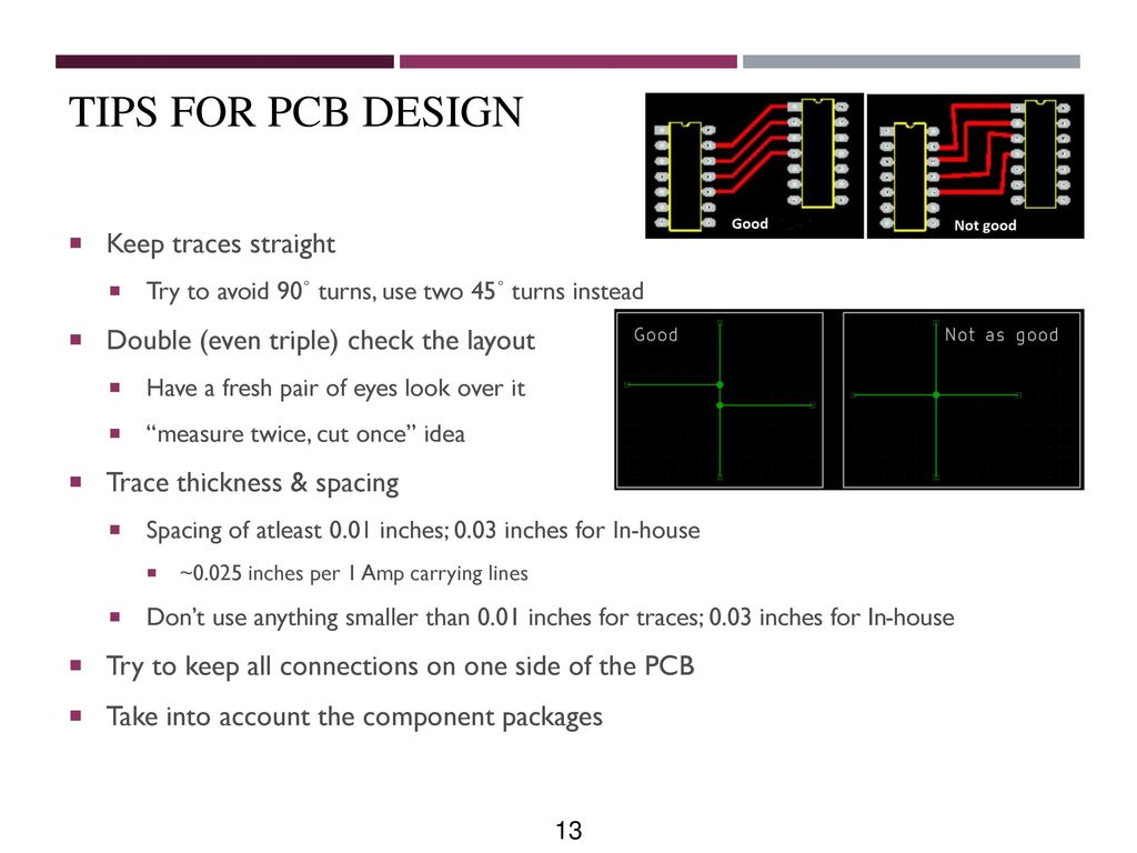 Printed Circuit Board Design Ppt Download Best Free Pcb Software39s Software Tips For Keep Traces Straight 14 Program