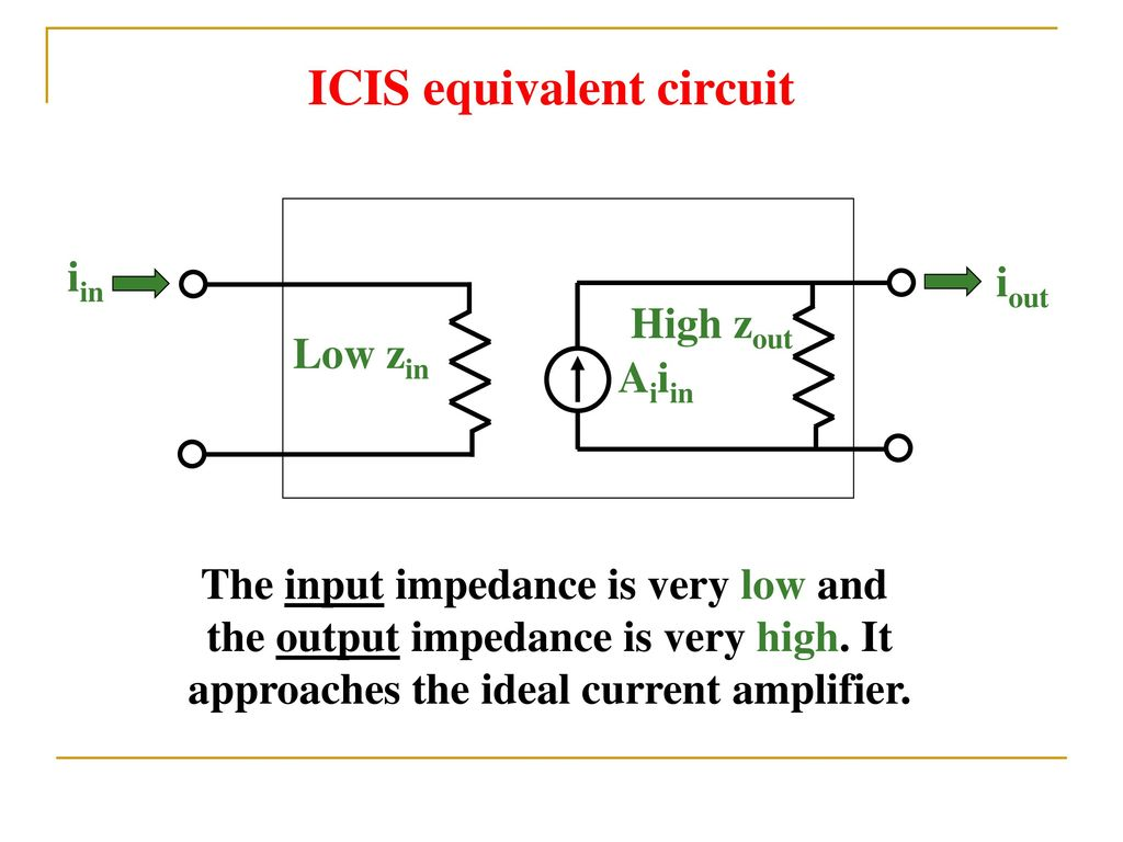 Operational Amplifiers Ppt Download Current Amplifier Circuit Icis Equivalent