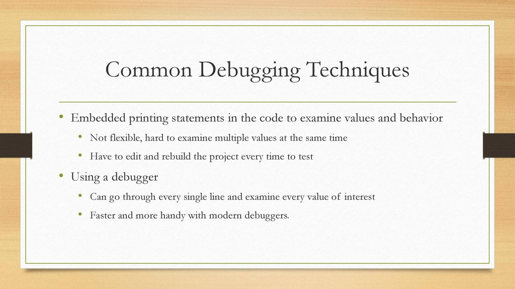 Debugging with Clion and GDB - ppt download
