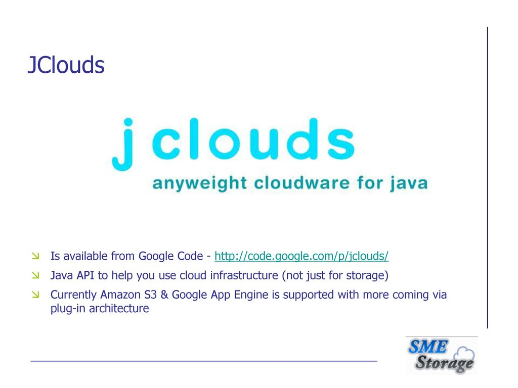 The need for a Multi-Cloud Storage API September ppt download