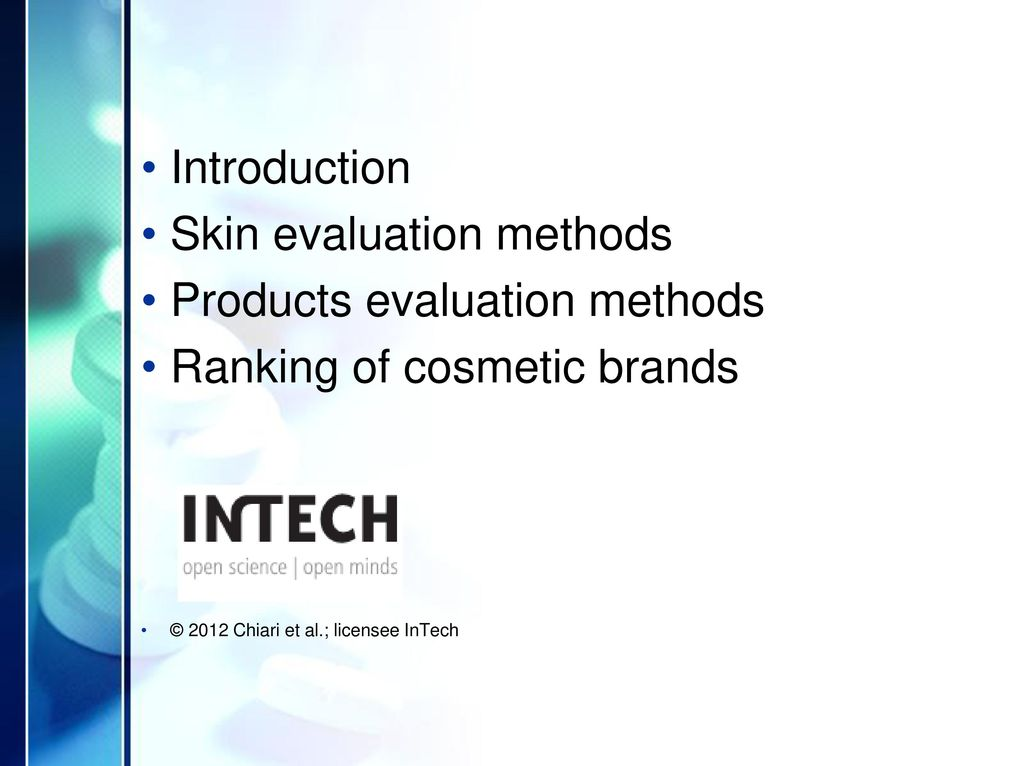 Cosmetics' Quality Control & Ranking of Brands - ppt download