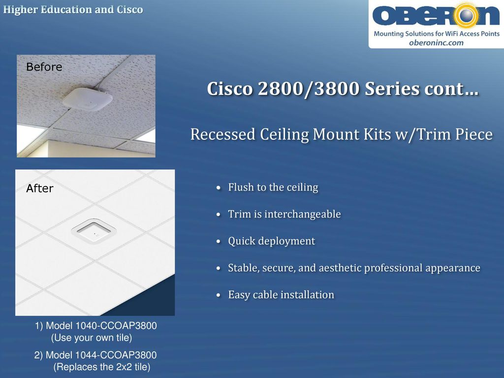 Professional Wi Fi Installation Solutions Ppt Download Oberon Wire Diagram 15 Cisco