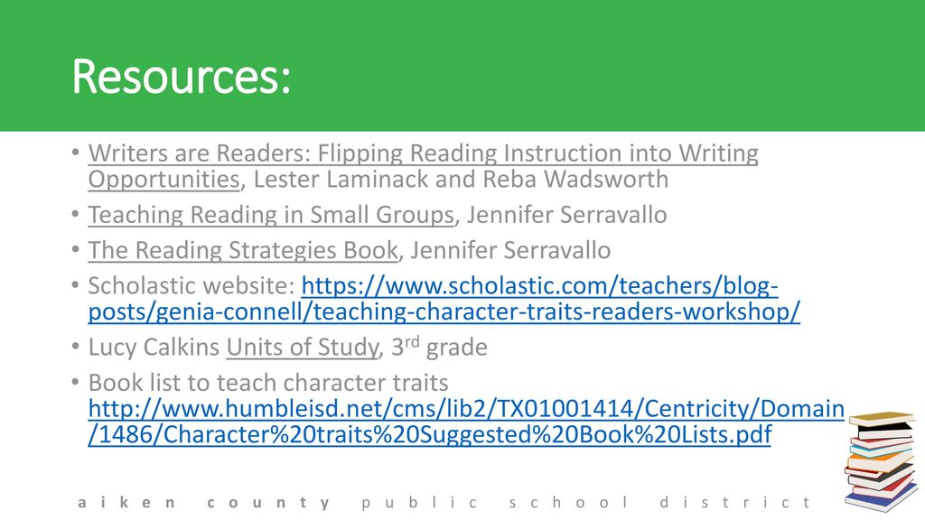 Reading and Writing Workshop: Living the Process - ppt download