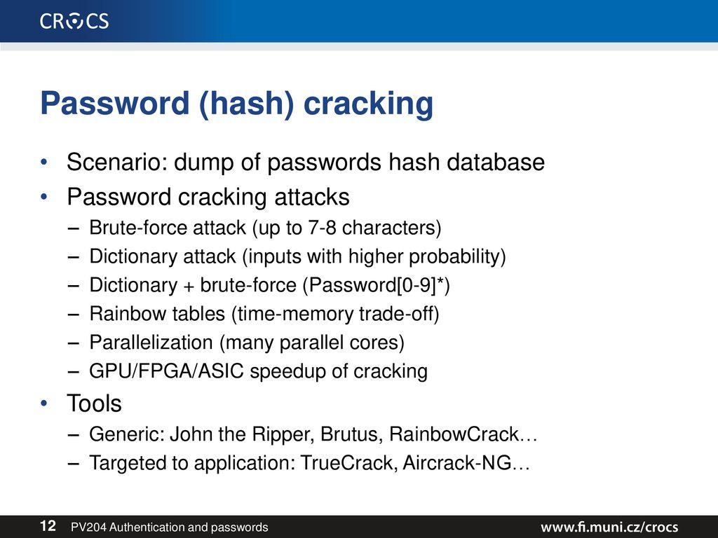 Brutus Password Cracker