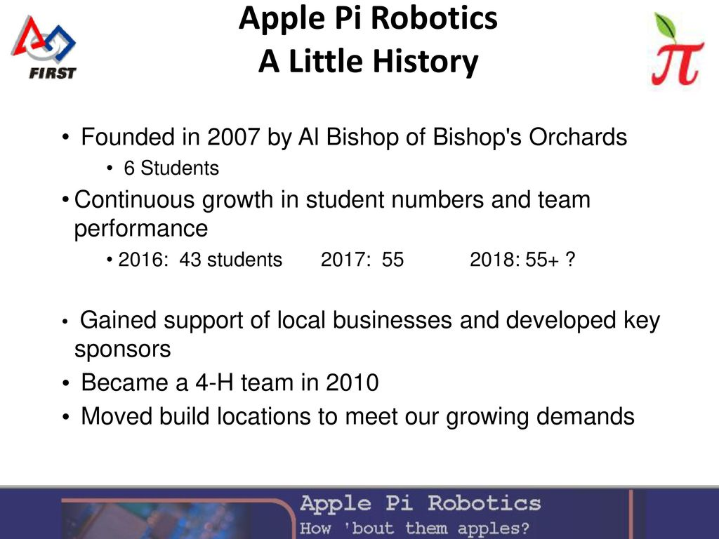 Introduction to Apple Pi Robotics - ppt download