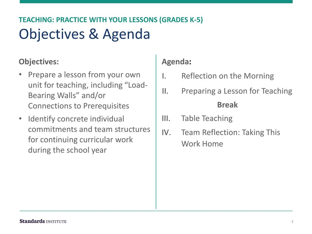 Teaching: Practice with Your Lessons (Grades K-5) - ppt download