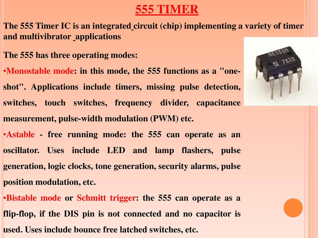 Load Cutoff Switch Upon Over Voltage Or Under Ppt Download Step 2 Build The 555 Ic Oneshot Timer 8