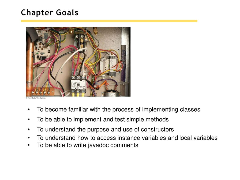 Chapter 3 Implementing Classes Ppt Download Electrical Wiring Goals To Become Familiar With The Process Of Be Able