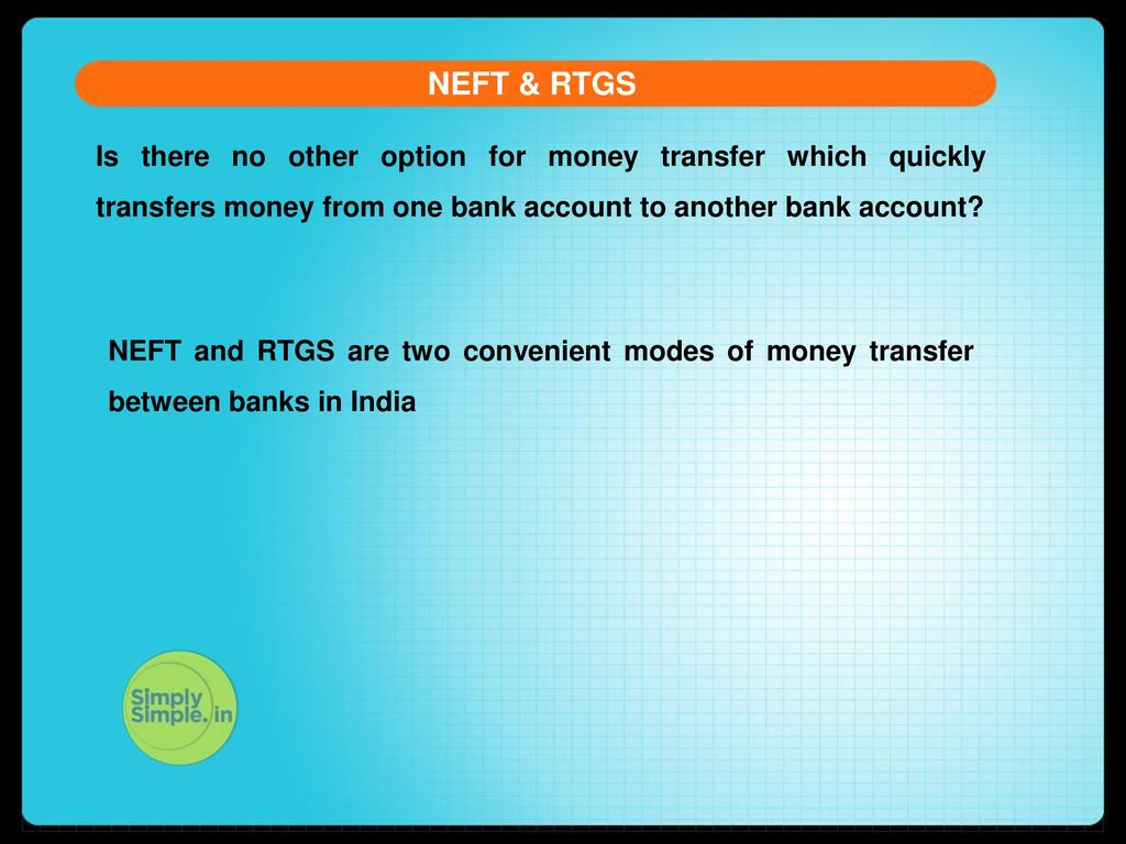 NEFT & RTGS FED TAPERING. - ppt download