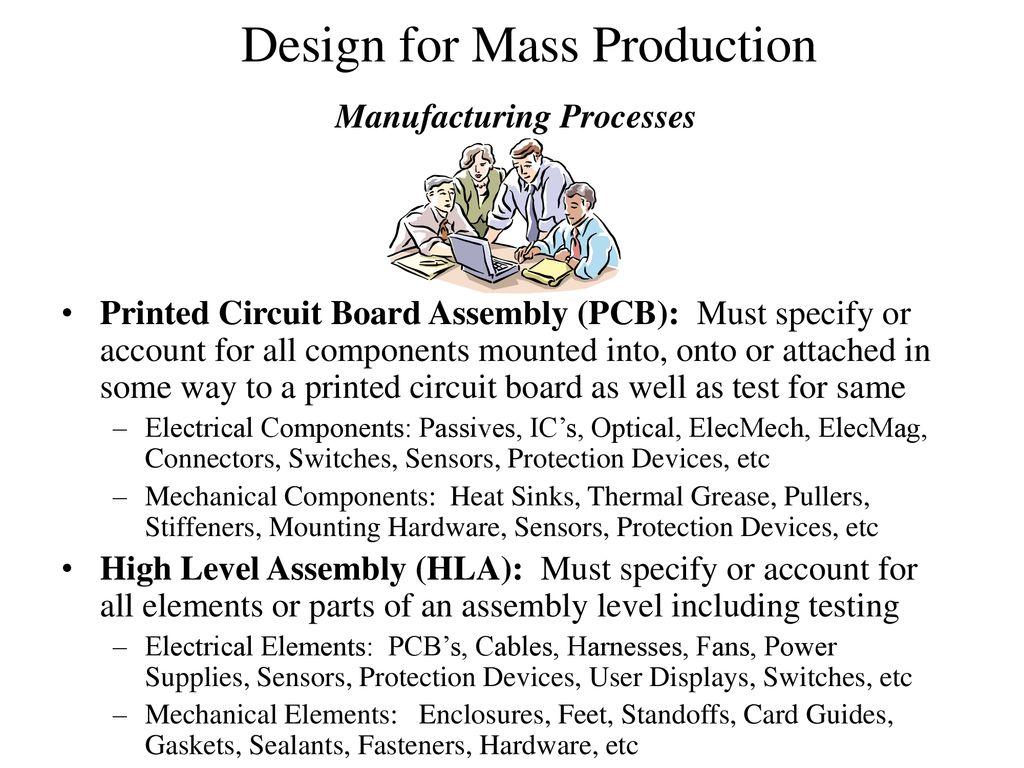 Manufacturing Processes Ppt Download Printed Circuit Board Assemblies Pcba Thru Hole Smt Bga Etc