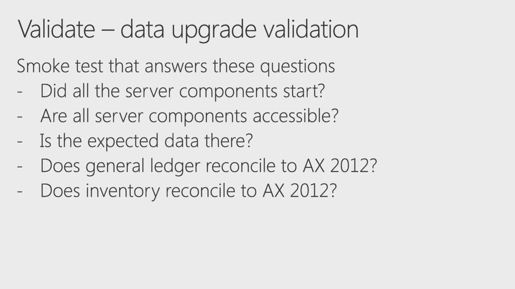 5/16/2018 6:29 PM BRK2038 Upgrade On-premise Legacy AX to