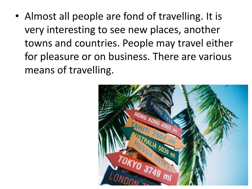 travelling ppt download