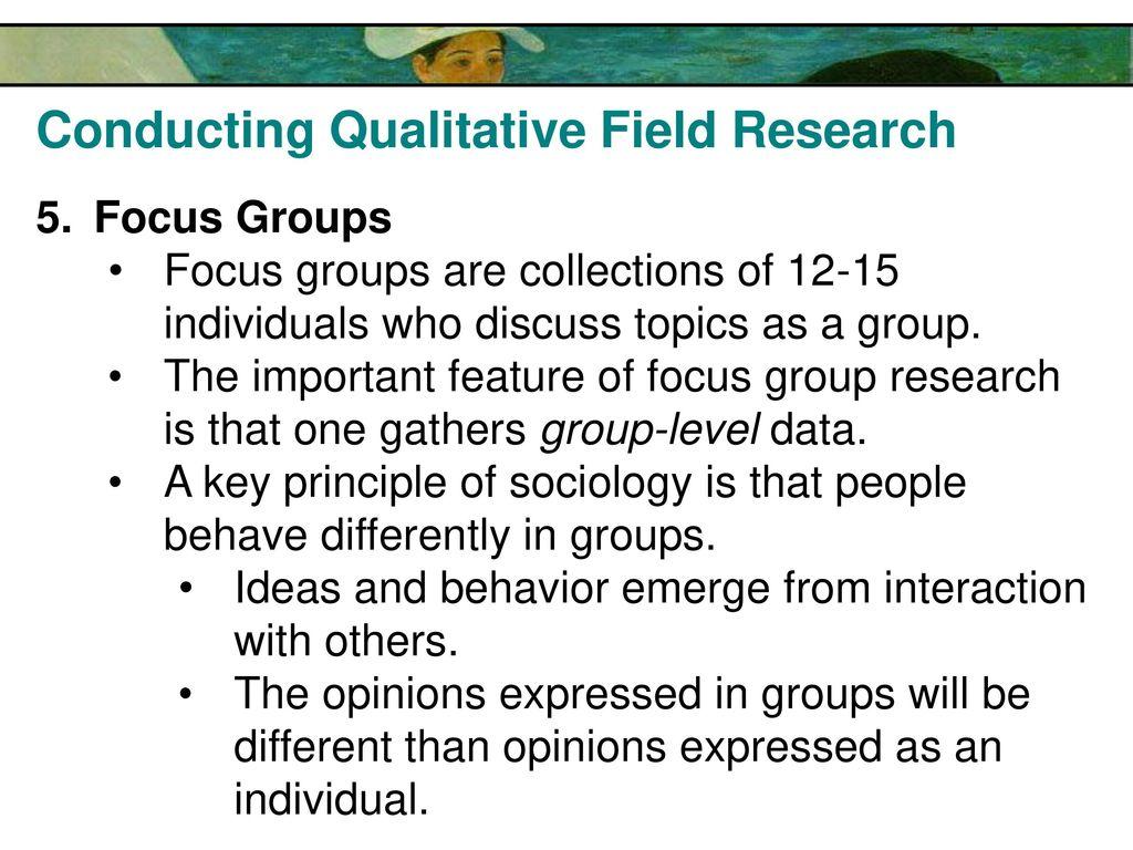 field research ideas