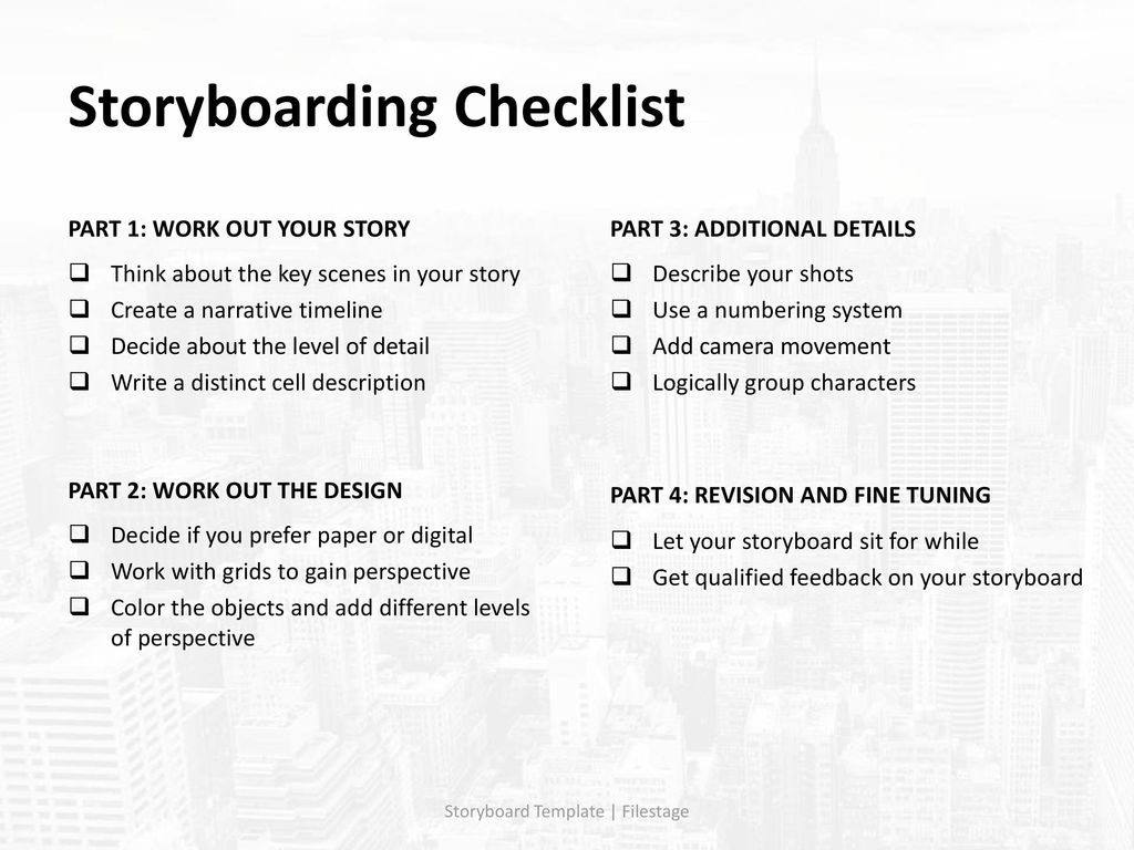 Storyboard Template Ppt Download