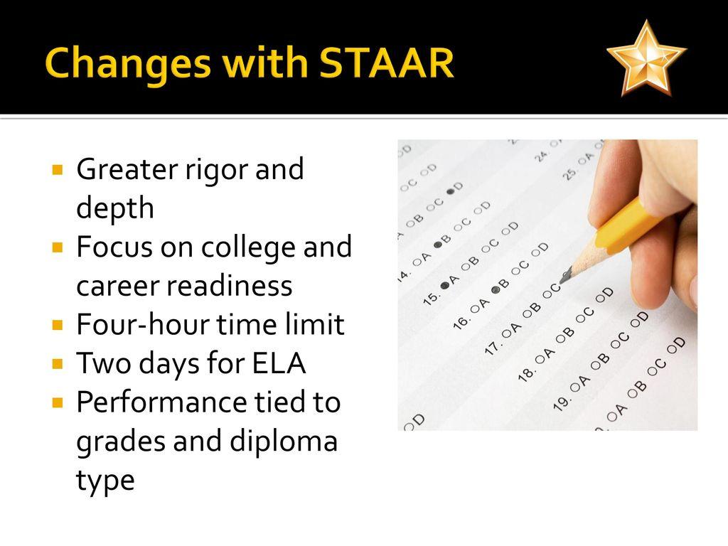 7th Grade Staar Chart