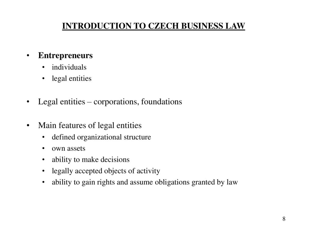 A legal entity is an organization that ... All about the concept of a legal entity
