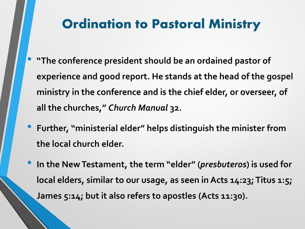 alternate images Array - a consensus approach to ordination in the sda  church ppt download rh slideplayer com