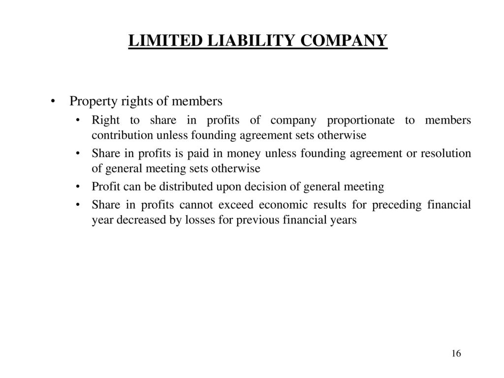 Limited Liability Company Ppt Download