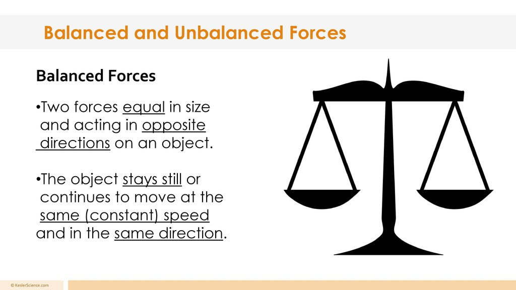 balanced unbalanced forces ppt download